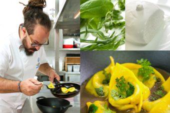 Pasta estiva…stellata: ecco la seconda creazione di marcello trentini del magorabin con il pastificio bolognese