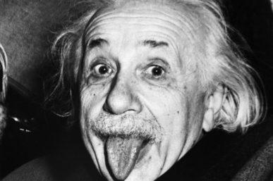 Being Albert Einstein
