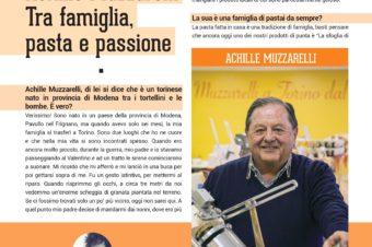 Achille Muzzarelli: fra famiglia, pasta e passione
