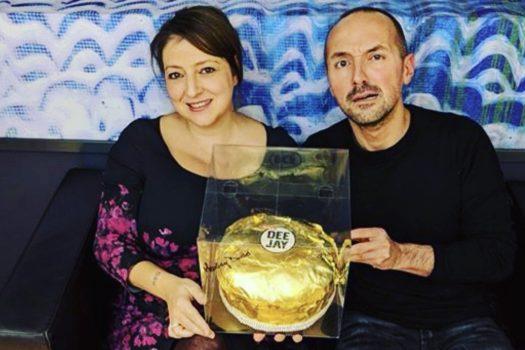 Panettone d'oro a Radio Deejay!