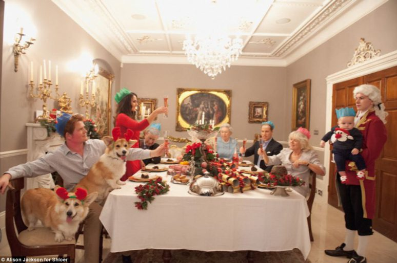 Pranzo di Natale a casa Windsor