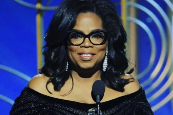 Il dicorso di Oprah: a new day is in the horizon.