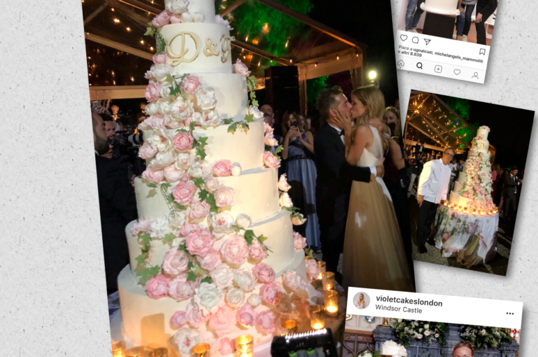 Non è matrimonio senza wedding cake