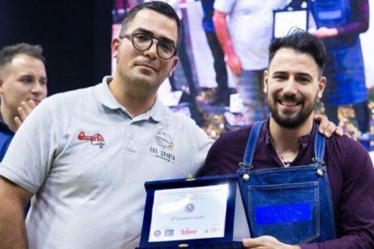 Fabio Colicchia e la latte art: «brividi e sensazioni d'orgoglio» nella sfida per il titolo tricolore