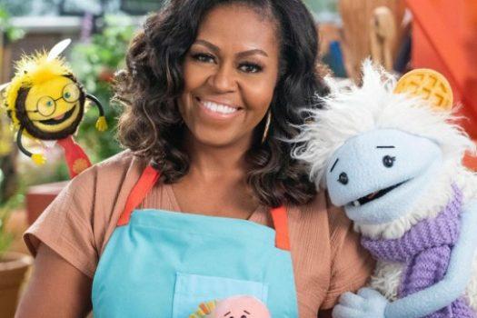 Waffles, Mochi, Michelle Obama e la corretta alimentazione. Su Netflix
