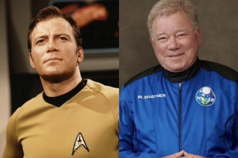 Forever Capitano Kirk, ovvero da Start Trek al razzo di Jeff Bezos sempre spazio è.