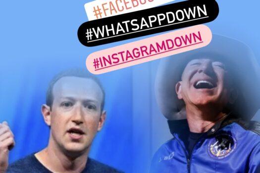 Zuckerberg down vs Bezos up (to the stars and beyond): cronache della settimana